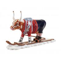 Коллекционная корова The Ski Cow (16,5*11 см)