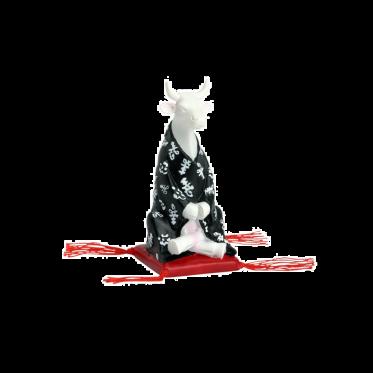 Коллекционная корова Meditating Cow S (8,5*3,5 см)