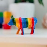 Коллекционная корова Minha Vaquina Queer Vocẽ! (15*9,5 см)