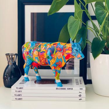 Коллекционная корова Music-cow Extravaganza (30,5*19,5см)