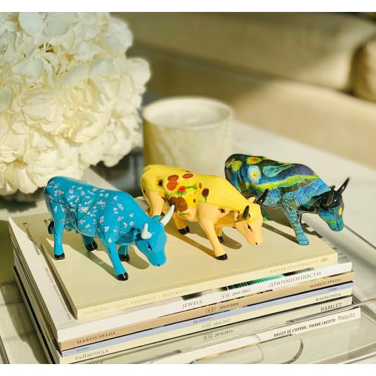 Набор коллекционных статуэток CowParade Collectables Artpack Van Gogh (10*6 см,10*6 см,10*6 см )