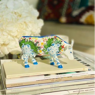 Коллекционная корова Muuselmalet (15*9,5 см)