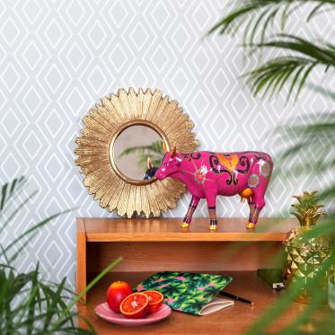 """Коллекционная корова New Delhi - """"Индия"""" (30,5*19,5см)"""