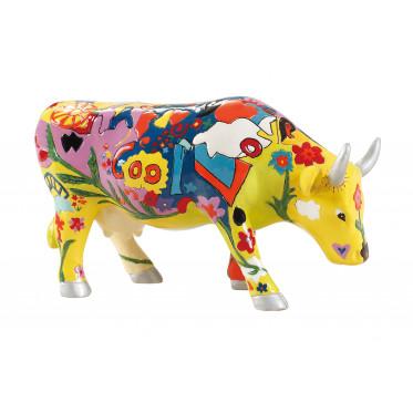 """Коллекционная корова Groovy Moo - """"Любовь"""" (15*9,5 см)"""