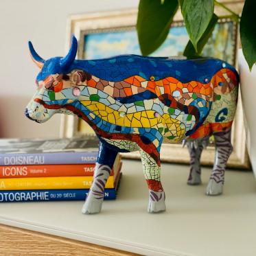 Коллекционная корова  Barcelona Cow (30,5*19,5см)