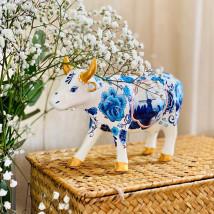 Коллекционная корова Blue Cow Bone China (16*11см)