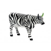 "Коллекционная корова The Greenhorn - ""Зебра"" (30,5*19,5 см)"